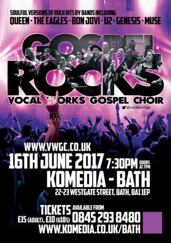 Gospel Rocks Poster